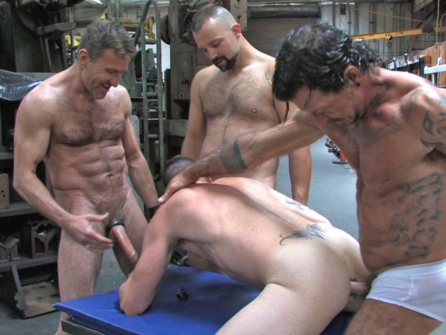 All greased up - 3 part 2